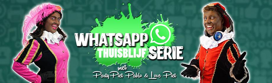 Header whatsapp thuisblijf serie